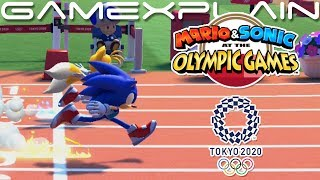 Hurdles & Archery in Mario & Sonic at the Tokyo 2020 Olympic Games - DIRECT FEED Gameplay