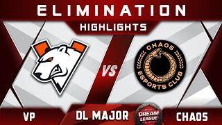VP vs Chaos [TOP 8] Stockholm Major DreamLeague Highlights 2019 Dota 2