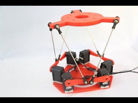 3D Printed 6-DOF Parallel Platform