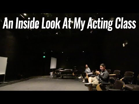 An Inside Look At My Acting Class - Episode #206