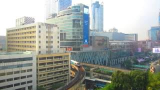Bangkok View from Hyatt Erawan Hotel