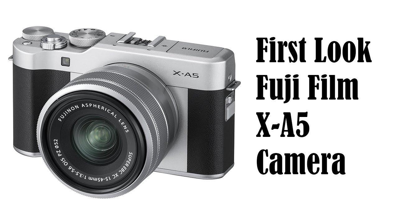 Unboxing Fujifilm Xa5 X A5 Kit 15 45mm 35 56 Ois Pz Xf35mm F2 Brown