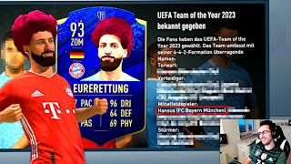 EURERETTUNG STEHT IM TEAM OF THE YEAR 2023 !!! 🔷🏆 FIFA 21 Spielerkarriere #11 (Stream Highlights)