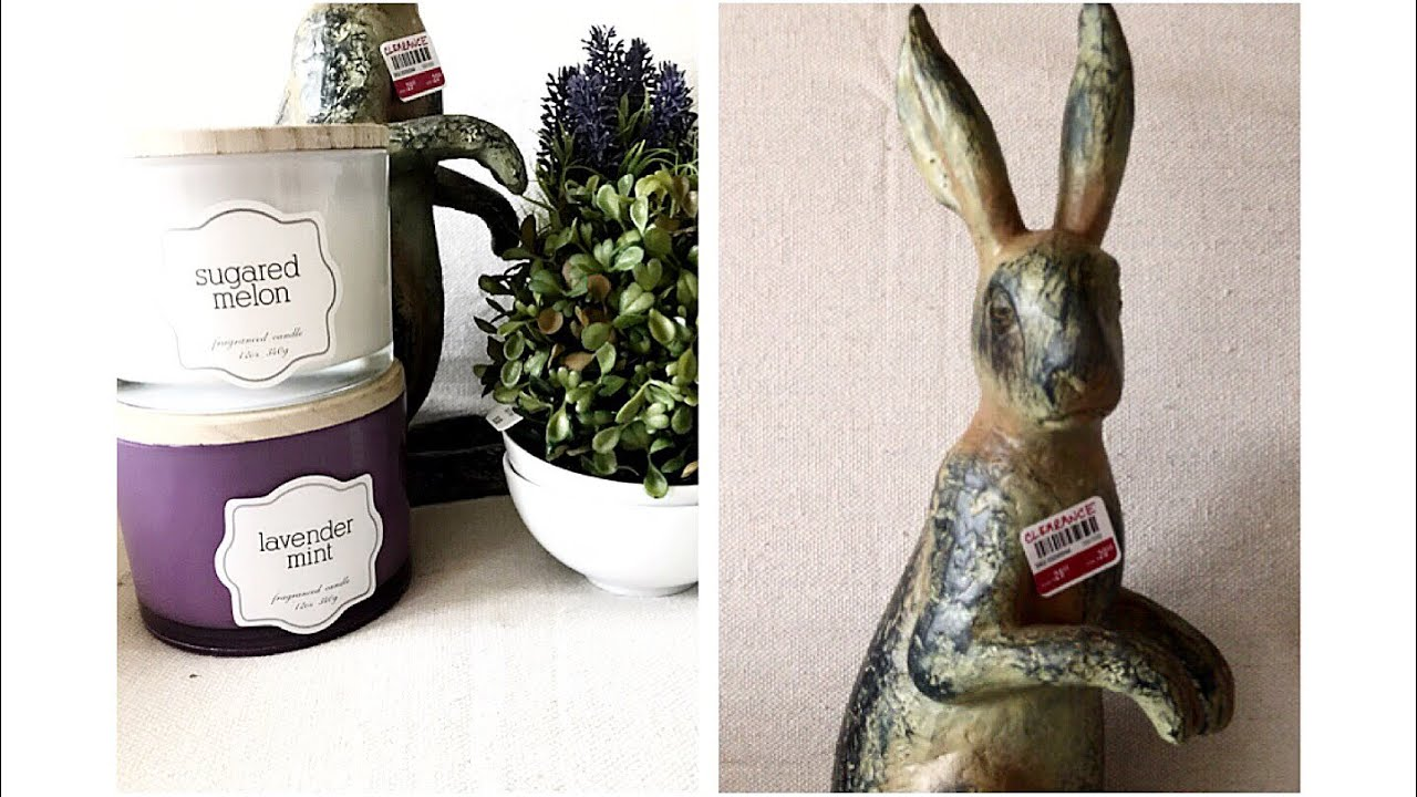 Pier One Big Lots Shopping Haul Easter Decor Spring Decor 2018