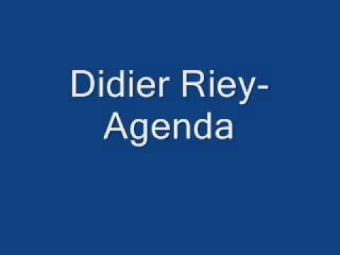 Didier Riey-Agenda