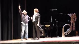 """David Larible - """"Il Clown dei Clown"""" a Rimini (5) BALLO CON MANICHINO  e TRIANGOLO AMOROSO"""