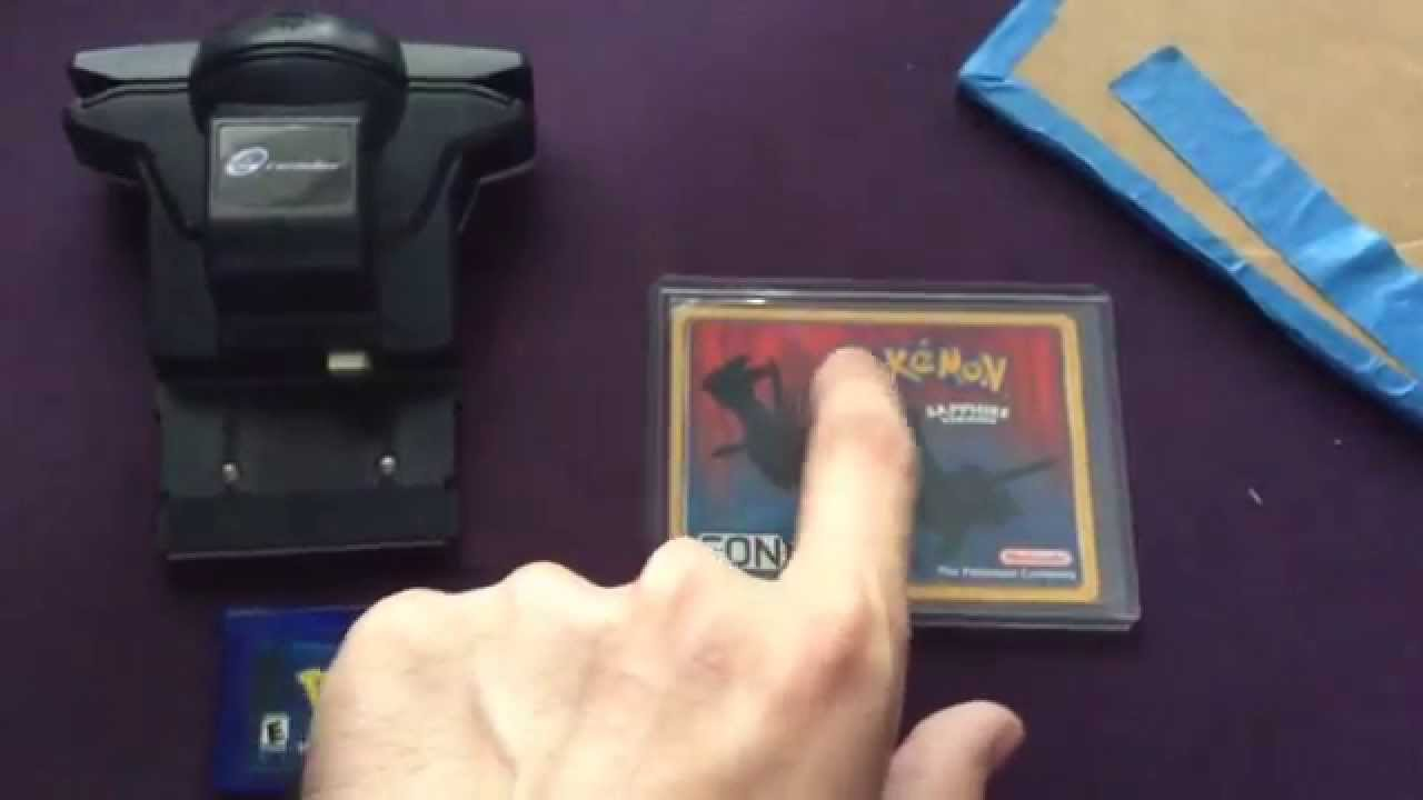 GBA Eon Ticket e-reader card Unboxing!