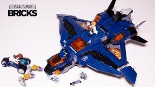 Lego Avengers Endgame 76126 Ultimate Quinjet Speed Build