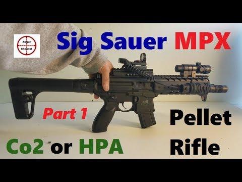 Sig Sauer MPX Pellet Rifle (U.S. Navy Seal's M4 Replica) Metal Semi Auto Air Rifle