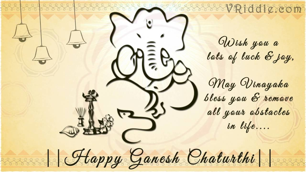 Ganesh chaturthi video greetings card youtube ganesh chaturthi video greetings card m4hsunfo