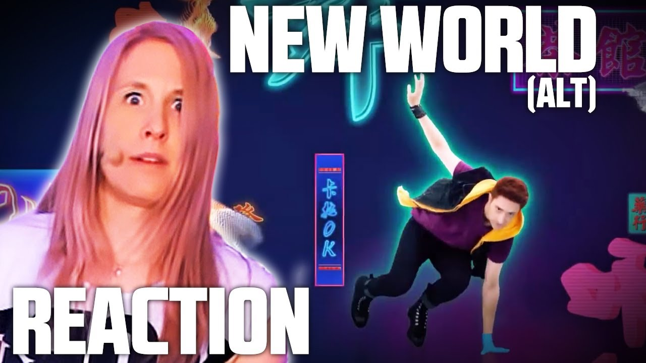 New World [EXTREME ++]   JUST DANCE 2020   1st try REACTION
