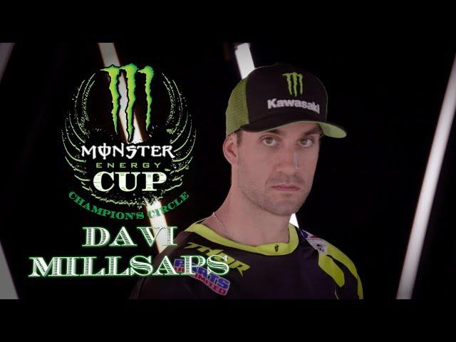 Monster Energy Cup Champions Circle - Davi Millsaps
