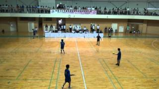 2012全国高校総体ハンドボール 近江兄弟社vs湯沢 4/4