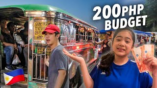 COMMUTE RACE TO HOME!! (200 Pesos BUDGET) | Ranz and Niana
