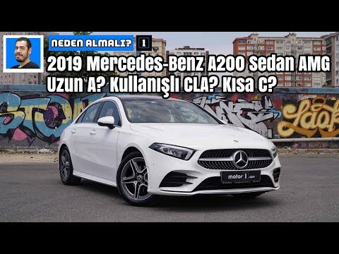 2019 Mercedes-Benz A200 Sedan AMG | Uzun A? Kullanışlı CLA? Kısa C? | Neden Almalı?