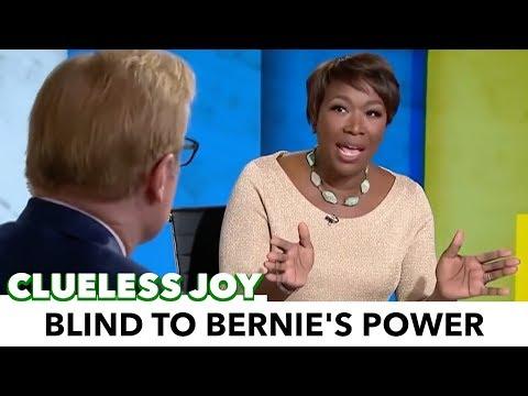 Joy Reid Is Blind To The Power Of Bernie Sanders