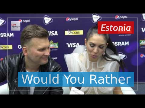 5 questions for Koit Toome & Laura from Estonia - Eurovision Song Contest 2017 - Verona - Interview