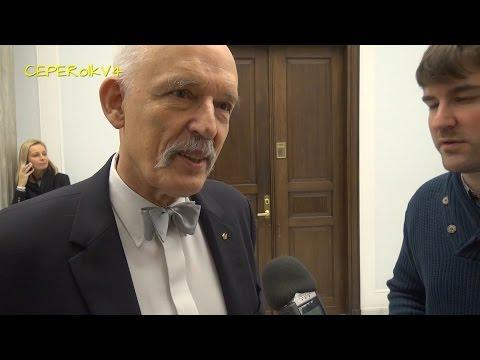 Wywiad Charlie Hebdo z Januszem Korwin-Mikke 10.02.2016