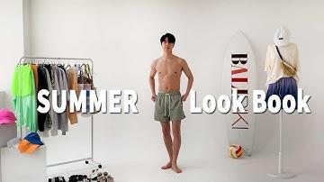 [LookBook]바캉스룩 코디 남자 여름옷 총정리! - Vacation Look Coordination Men