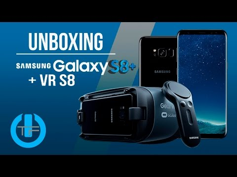 Galaxy S8 Plus & Galaxy Gear VR UNBOXING