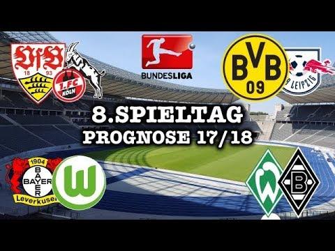 Bundesliga 8 Spieltag