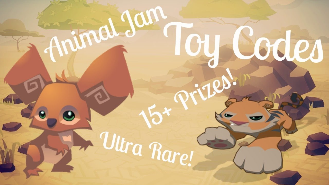 animal jam toy codes
