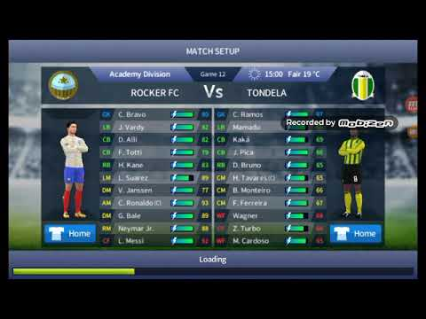 Dream League Soccer Rocker fc vs Tondela 1-0 Dls