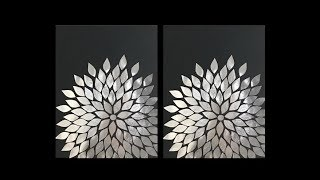 DIY: Aluminum Foil Wall Art Decor by {MadeByFate} #45