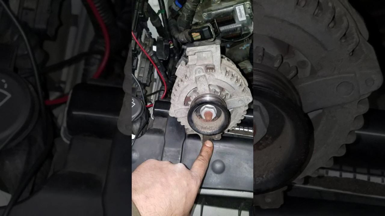 small resolution of 2005 03 04 05 06 07 cadillac cts 3 6 alternator removal install supplement