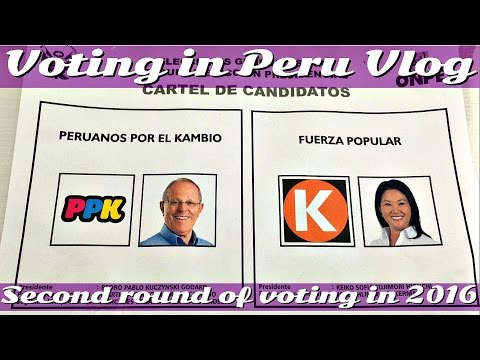 Peruvian Elections Second Round (Vlog 15)