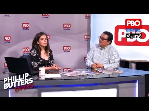 Phillip Butters - En Vivo 04 Ene. 2019 - Entrevista a Víctor Andrés Ponce
