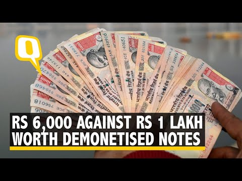 You Can Get Rs 6,000 Against Rs 1 Lakh Worth Demonetised Notes