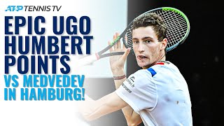 Epic Ugo Humbert Points In First Top-10 Win vs Medvedev | Hamburg Open 2020