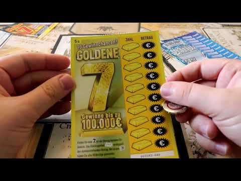 Моментальная лотерея в Германии 👍 Выпуск 10