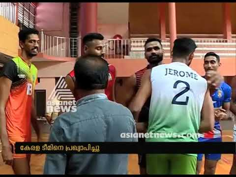 National Senior Volleyball Kerala team announced #Sports