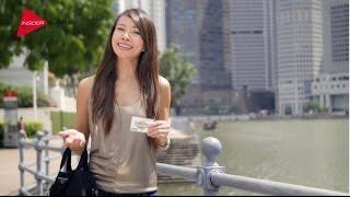 EZ Link Singapore Tourist Pass with Jamie Yeo