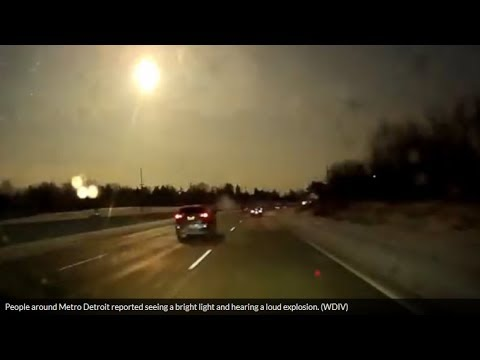 Michigan Meteor Shakes Detroit—Fireball Seen Across Six States Causes Earthquake