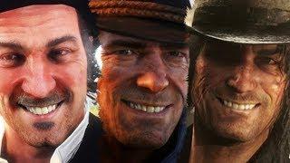 ARTHUR MORGAN'S FUNNIEST JOKES MONTAGE! Red Dead Redemption 2
