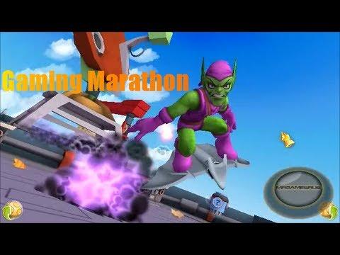 Gaming Marathon: Marvel Super Hero Squad Online Bombs Away!- HD