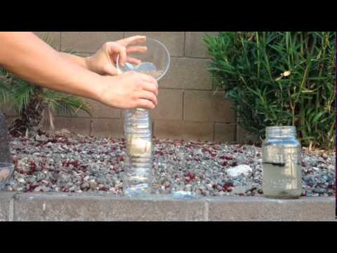 Kid Science Make A Mini Water Filter Youtube