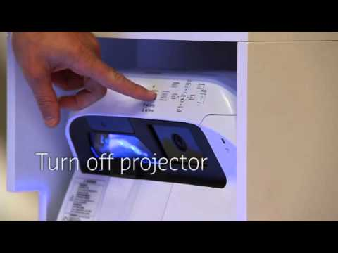 Lighthouse for Epson - Turn off projector - YouTube