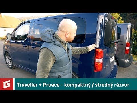 Toyota Proace Verso (M) - Peugeot Traveller(S) - GARÁŽ.TV