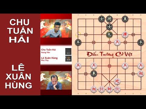 Nghiên cứu Hoa tâm pháo của Lê Xuân Hùng qua ván đấu với Chu Tuấn Hải