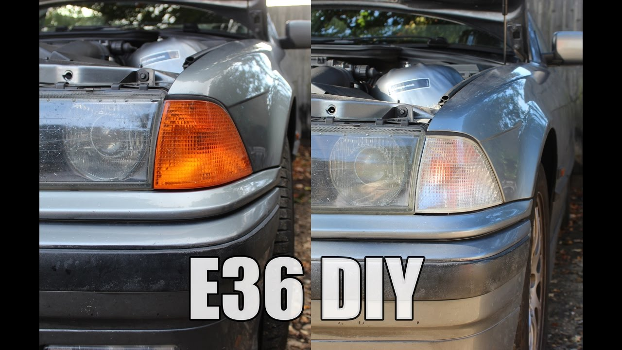 How To Remove BMW E36 Front Indicator