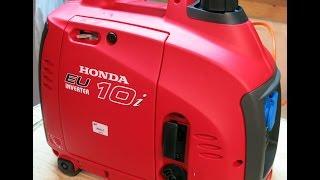 видео Бензиновые генераторы Honda (бензогенераторы)