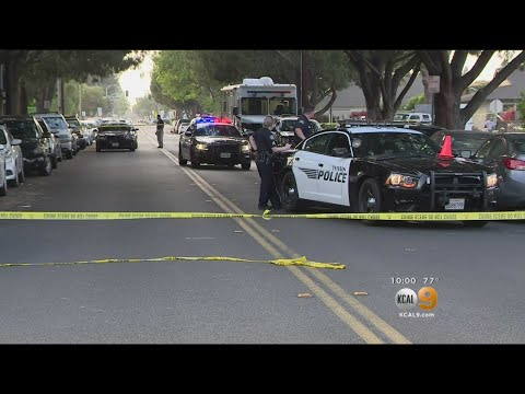 Police Searching For Clues In Fatal Tustin Shooting