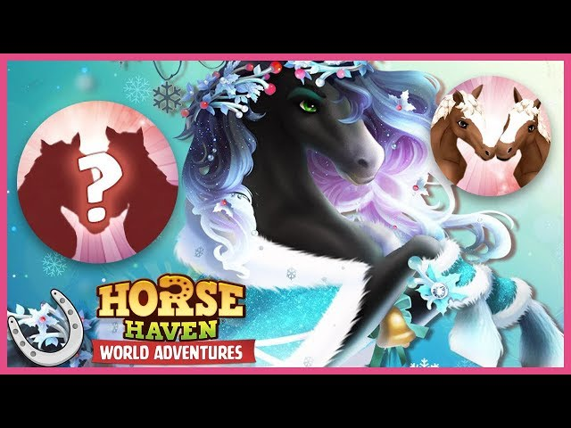 Horse Haven's NEW Christmas Horse + Upcoming Event Sneak Peak 🐴 Horse Haven World Adventures