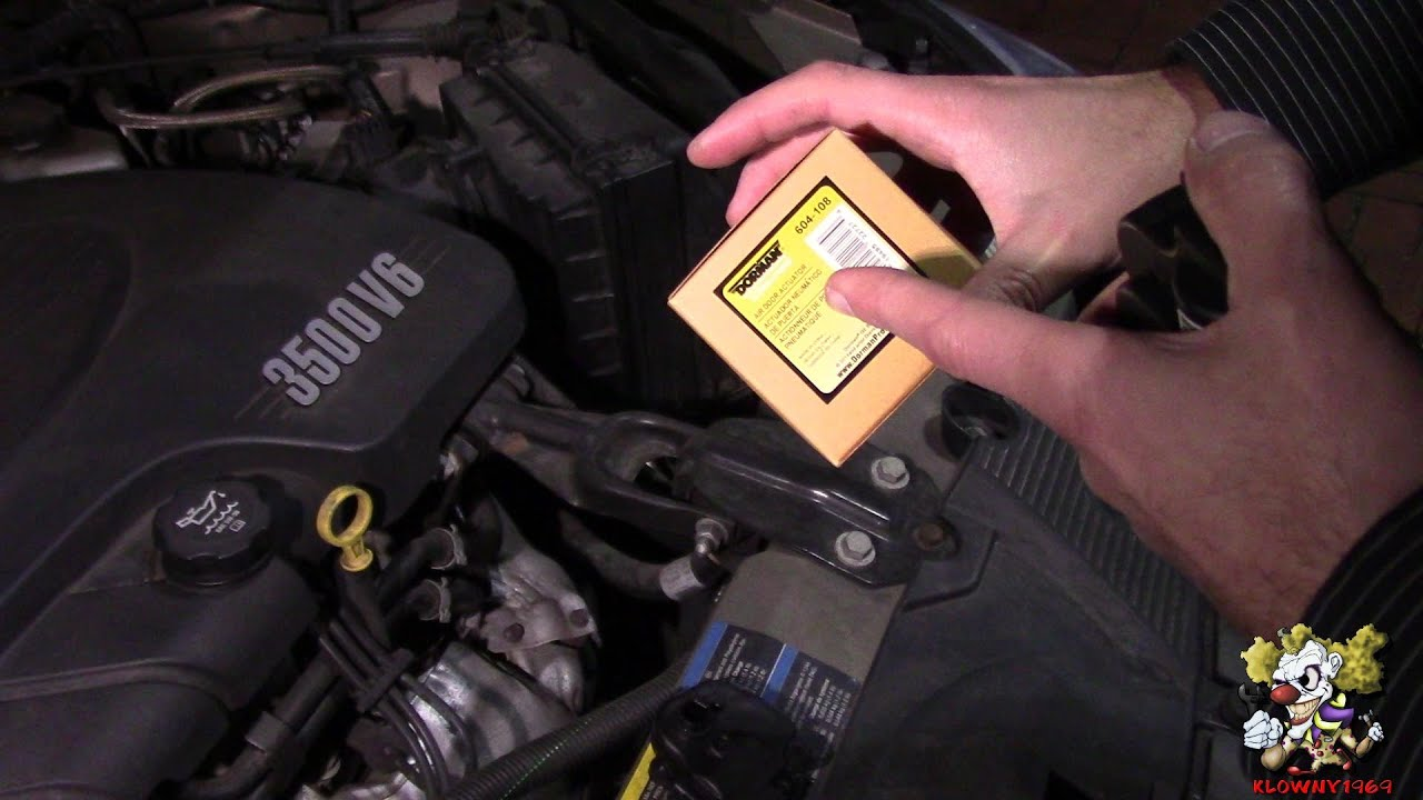 how to replace a driver side heat door actuator chevy impala 2006 2013 diy [ 1280 x 720 Pixel ]