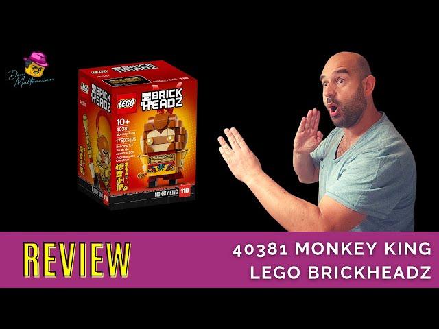 Der Affenkönig zum Sammeln | Lego BrickHeadz Set 40381 Monkey King