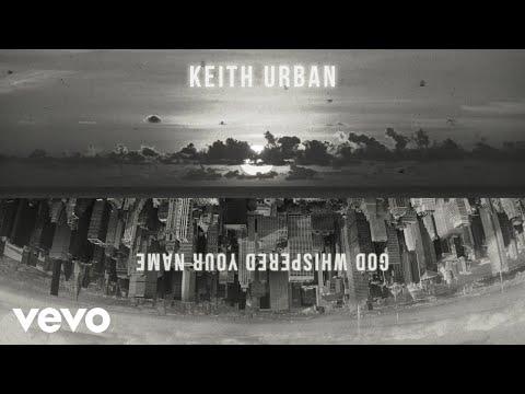 Keith Urban - God Whispered Your Name (Visualizer)
